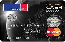carte rechargeable prépayée cash passport travelex